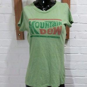 Girls Mountain Dew Shirt